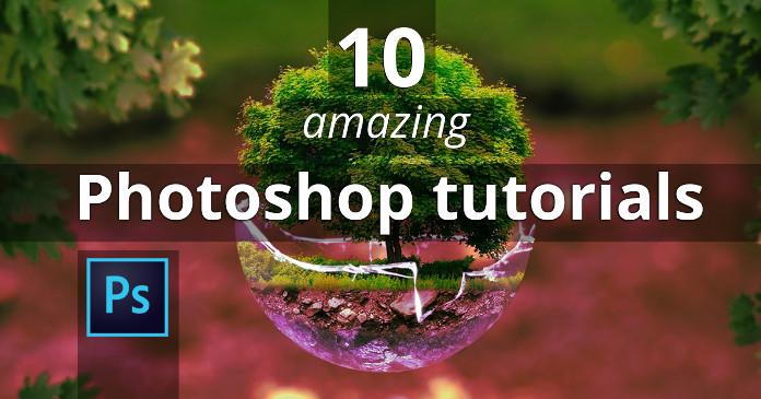 10 Amazing Photoshop Tutorials That Will Blow Your Mind