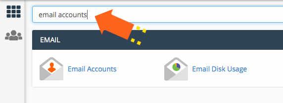 kako da promenim email lozinku cpanel